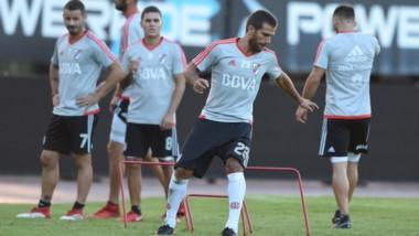 Ponzio volverá a la titularidad el jueves, al igual que Maidana, Montiel, Pinola y Mora.