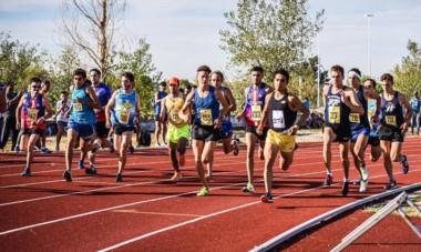 El esquelense Joaquín Arbe se llevó tres medallas doradas de Rosario, al imponerse en las finales de los 1.500, 3.000 y 5.000 metros.