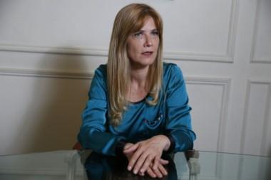 """Verónica Magario, dijo que """"la seguridad es responsabilidad por ley de la provincia de Buenos Aires, que le compete a la gobernadora"""" María Eugenia Vidal."""