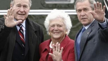 Murió Barbara Bush, la exprimera dama de Estados Unidos.