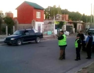Parte de los controles fueron en barrios conflictivos de la ciudad.