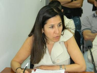 Defensora oficial María Angélica Leyba