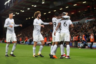 Manchester United venció de visitante a Bournemouth.