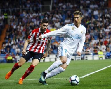 Cristiano Ronaldo, de taco, empató el partido a los 87 minutos.