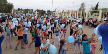 El sábado pasado, en la Plaza Alfredo García, el CEF realizó una actividad que reunió a grandes y chicos.