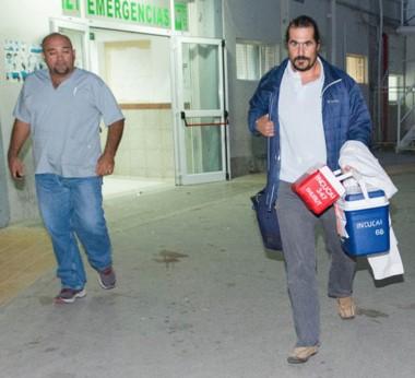 Especialistas locales y del INCUCAI realizaron con éxito en Trelew la ablación de órganos del pequeño.