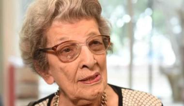 Delia Giovanola, una de las fundadoras de Abuelas de Plaza de Mayo.