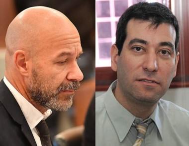 Dúo. Rodríguez (izquierda) y Heiber, dos de los fiscales involucrados.