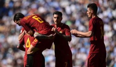 Roma vence 3-0 al Spal en la Serie A y toma impulso para semifinal de la Champions.
