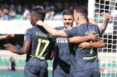 Mauro Icardi abrió la cuenta en la victoria de Inter ante Chievo Verona. Su equipo lucha por entrar a la próxima Champions.