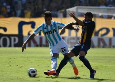 Central perdió 2-0 frente a Racing. El Canalla quedó prácticamente al margen de la clasificación a la Copa Sudamericana 019.