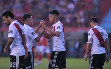En su última presentación por la Superliga, River goleó a Arsenal en Sarandí.
