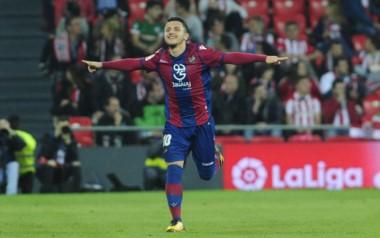 Bardhi, en dos oportunidades, y Morales, marcaron los tantos de Levante.