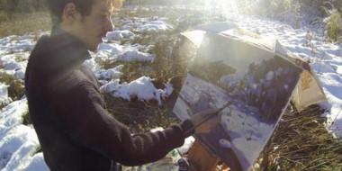 Guido Ferrari pintando al aire libre.  Todas sus obras se pueden apreciar en : www.guidoferrari.com.