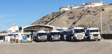 El bloqueo es en la playa de tanques de YPF en Comodoro (foto ilustrativa)