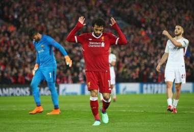 En la semifinal de ida en Inglaterra, Liverpool goleó 5-2 a Roma. Hoy juegan en Italia.