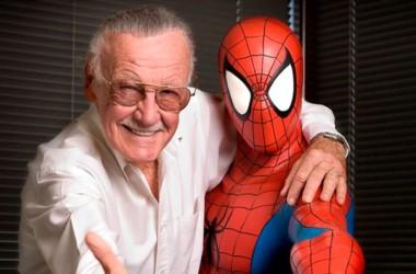 Stan Lee, creativo de la famosa editorial Marvel Comics y