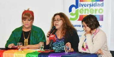 """""""La comunidad trans sigue siendo la gran relegada"""", afirmó Susy Shock en Trelew."""