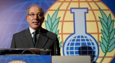El Director General de la OPAQ, Ahmet Üzümcü.