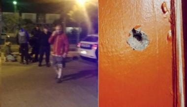 Los rastros de la balacera en una vivienda del barrio Progreso.