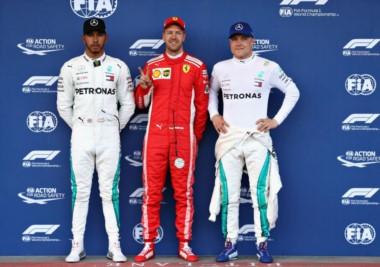 Sebastian Vettel se llevó la pole del Gran Premio de Azerbaiyán.