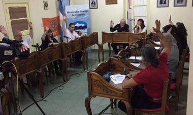 Concejales ratificaron el convenio.
