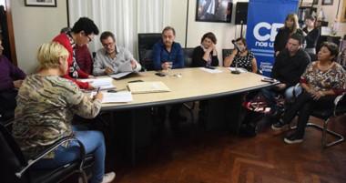 El intendente Carlos Linares anunció nuevas obras.