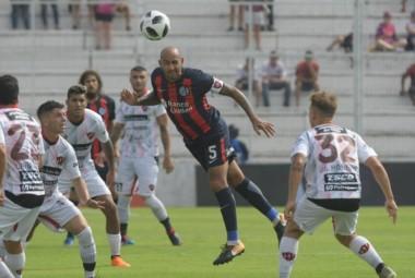 San Lorenzo no jugó bien e igualó con Patronato.