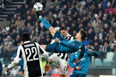 Juventus y Real Madrid juegan el partido de vuelta. En la ida, Cristiano marcó con esta