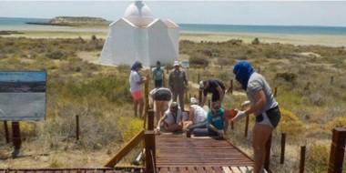 Los visitantes fueron una constante en Penísnsula Valdés, con niveles muy altos de presencia de turistas.