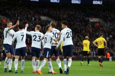 Con goles de Alli y Kane, Tottenham derrotó como local a Watford.