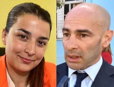 Enfrentados. Das Neves (izquierda) y Massoni, envueltos en polémica.