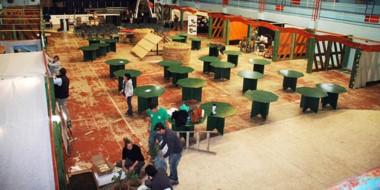 Habrá más de 200 stands de productos regionales y artesanías. Y 21 puestos de comidas.