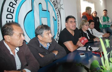 Voz cantante. Collio hace pública su decisión de retirarse de la CGT por no encontrar consensos.