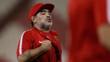 Maradona apunta contra Sampaoli y su cuerpo técnico.