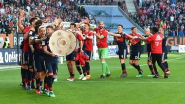 A falta de 5 partidos, Bayern Munich se consagró por sexta vez consecutiva.