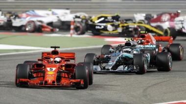 Victoria de Vettel. Impresionante carrera del piloto alemán, resistiendo con un neumático blando durante 39 vueltas y la presión de Bottas.
