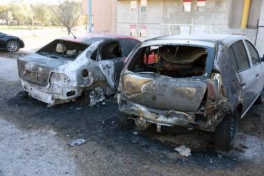 Los dos vehículos sufrieron importantes daños