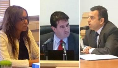 Fiscal Révori, el juez Criado y el defensor Ponce. Hubo juicio abreviado.
