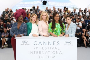 Khadja Nin, Lea Seydoux, Cate Blanchett, Ava Duvernay y Kristen Stewart, miembros del jurado del Festival de Cannes.