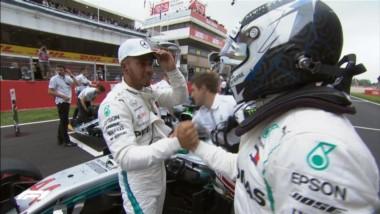 Hamilton consigue la Pole en Montmeló por 40 milésimas sobre Bottas.