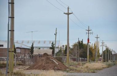 Parque Industrial de Trelew. En los últimos meses se vieron cierres, despidos y empresas en quiebra.