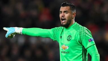 Mourinho le dio la titularidad a Romero para que sea el arquero del Manchester United en la última fecha de la Premier League y el argentino respondió de la mejor manera.