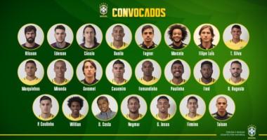 Sin vueltas, Tité confirmó los 23 jugadores, sin el lesionado Dani Alves.