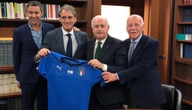 Mancini se convirtió en el nuevo entrenador de Italia.