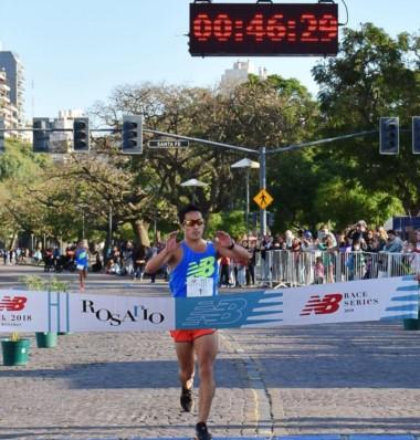 El esquelense Joaquín Arbe cruzó la meta en 46.29.