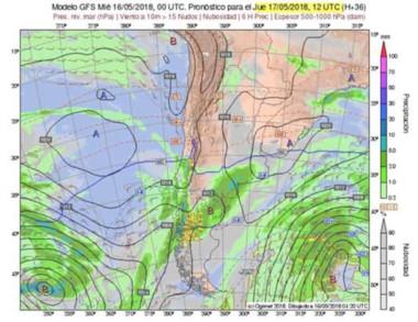 El pronóstico es para Cordillera, sur y frente costero.