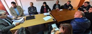 El ministro de Gobierno presidió una nueva reunión con otro sector de los sindicatos estatales.