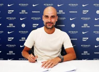 Pep Guardiola decidió renovar su contrato con el Manchester City y lo hizo hasta 2021.