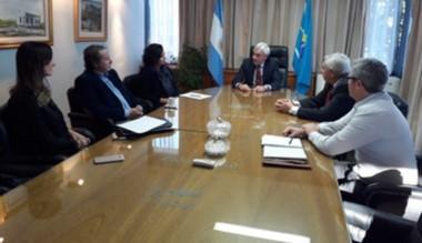 Reunión con el Superior Tribunal de Justicia de la provincia del Chubut.